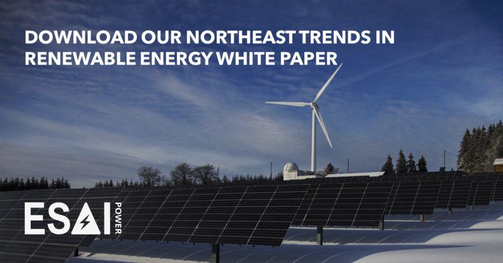 Northeast Trends in Renewable Energy White Paper Download